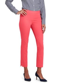 Women's Petite Mid Rise Bi Stretch Pencil Crop Pants by Lands' End