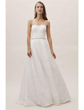 Bellevue Linen Gown by Bhldn