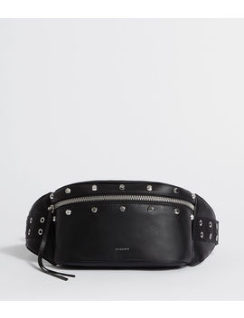 Sid Leather Fanny Pack by Allsaints