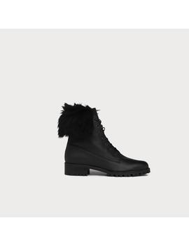 Delli Black Leather Ankle Boots by L.K.Bennett