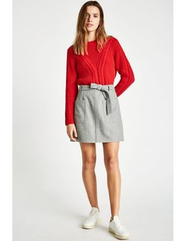 Adwell Mini Skirt by Jack Wills