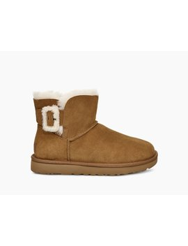 Mini Bailey Fluff Buckle Boot by Ugg