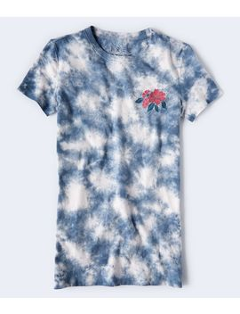 Free State Flower Tie Dye Graphic Tee by Aeropostale