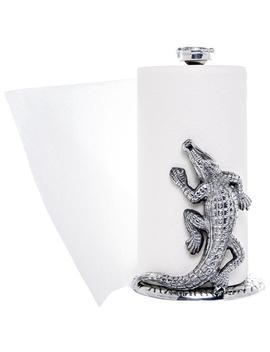 Arthur Court Alligator Paper Towel Holder by Arthur Court