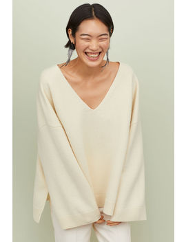 Oversize Wollpullover by H&M