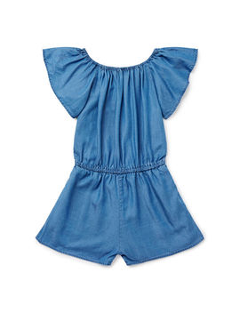 Ruffle Sleeve Playsuit by Seed Heritage