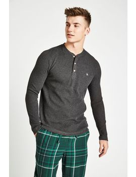 Byworth Waffle Henley Top by Jack Wills