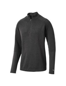 Golf Men's Evo Knit Performance 1/4 Zip Sweater by Puma
