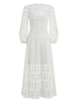 Wayfarer Embroidery Long Dress by Zimmermann