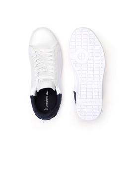 Women's Carnaby Evo Colour Block Leather Trainers by Lacoste