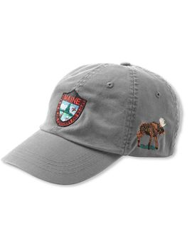 Maine Inland Fisheries And Wildlife Baseball Cap, Moose by L.L.Bean
