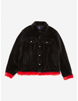 John Undercover Jacket   Black/Red by Undercover