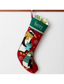 Holiday Stocking   Penguin by The Company Store