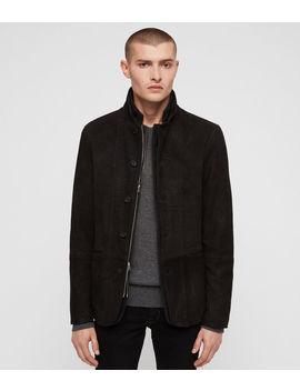 Dayton Leather Blazer by Allsaints