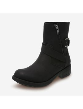 Women's Willa Moto Boot by Learn About The Brand Brash