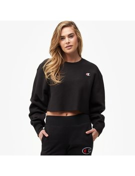 Champion Reverse Weave Cropped Cut Off Crew by Champion