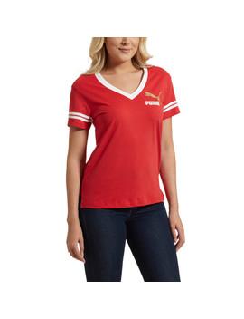 Retro Varsity T Shirt by Puma