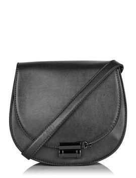 Gunmetal Saddle Cross Body Bag by Skinnydip
