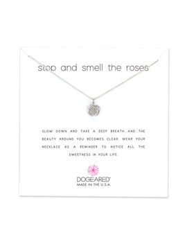 Stop And Smell The Roses, Sterling Silver by Dogeared