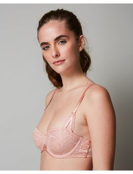 Segur Lace Unlined Demi Bra by Chantelle Journelle Coco De Mer Only Hearts Simone Perele Coco De Mer