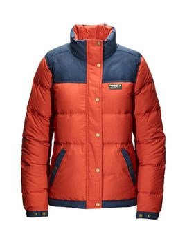Women's Mountain Classic Down Jacket, Color Block by L.L.Bean