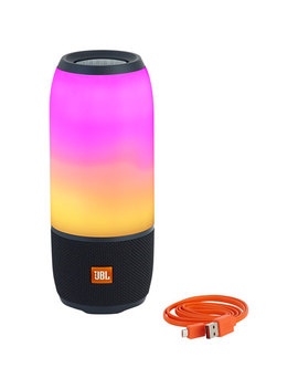 Jbl Pulse 3 Waterproof Bluetooth Wireless Speaker   Black by Best Buy