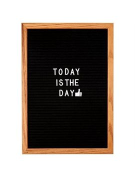 Felt Letter Board   Black, Medium by Indigo