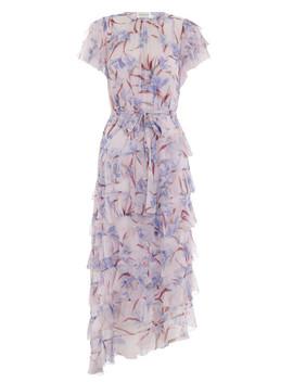 Corsage Flutter Dress by Zimmermann