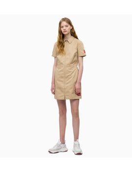 Canvas Zip Up Dress by Calvin Klein Jeans