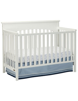 Graco Lauren 4 In 1 Convertible Crib White by Best Buy