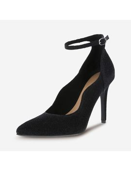 Women's Kenni Ankle Strap Heel by Learn About The Brand Christian Siriano For Payless