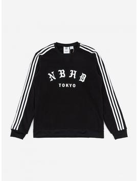 X Neighborhood Crewneck Sweatshirt   Black by Adidas
