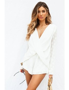 Danica Twist Playsuit by Sabo Skirt
