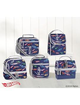 Mackenzie Gray Blue Hot Wheels®; Lunch Bags by Pottery Barn Kids
