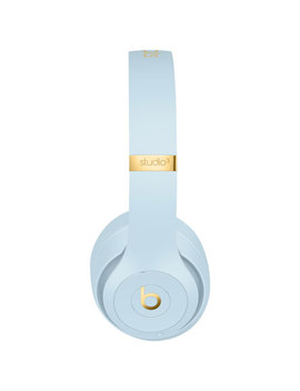 Beats By Dr. Dre Studio3 Skyline On Ear Noise Cancelling Bluetooth Headphones   Crystal Blue by Best Buy