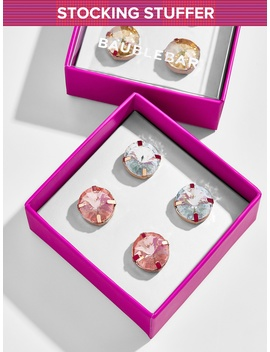 Bree Glass Stud Earrings by Baublebar