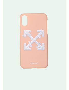 Leaves Arrows Iphone X Case by Off White