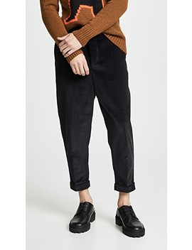 Oversized Carrot Fit Trousers by Ami
