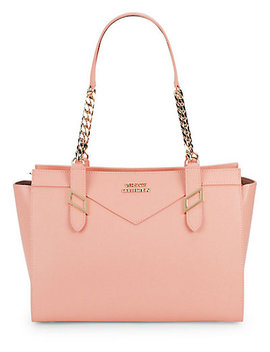 Versace Collection Classic Logo Leather Tote by Versace Collection