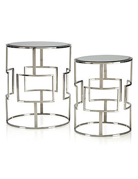 Mirage Accent Tables   Set Of 2 by Z Gallerie