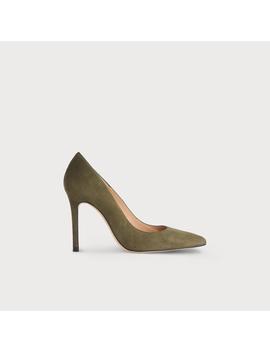 Fern Green Suede Heels by L.K.Bennett