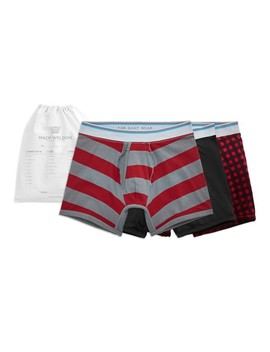 3 Pack 18 Hour Jersey Boxer Briefs by Mack Weldon