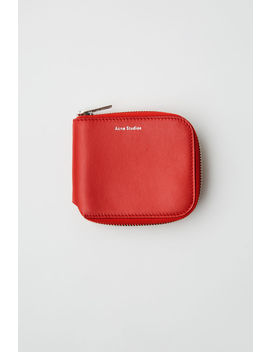 Compact Wallet Sharp Red by Acne Studios