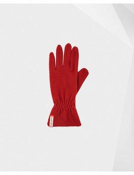 "<Span Itemprop=""Name"">Original Fleece Gloves</Span>:                     <Span>Military Red</Span> by Hunter"