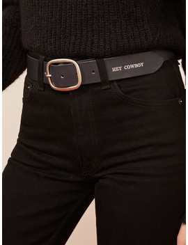 Maximum Henry Hey Cowboy Belt by Reformation