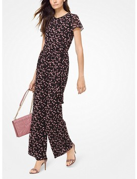 Mini Rose Georgette Jumpsuit by Michael Michael Kors