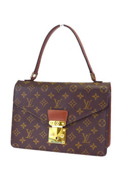 Authentic Louis Vuitton Concorde Hand Bag M51190 Monogram Canvas Used Vintage Lv by Louis Vuitton