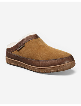 Men's Eddie Bauer Shearling Scuff Slippers by Eddie Bauer