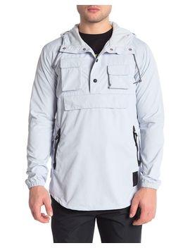 Men's Gray Premium Hooded Jacket by Asics
