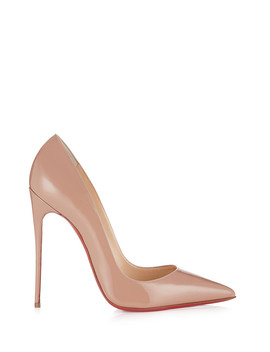 So Kate Nude Leather Stilettos by Christian Louboutin                                      Sold Out